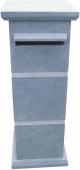 blauwsteen-arduin brievenbus